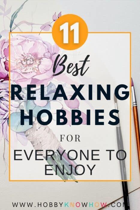 relaxing hobbies