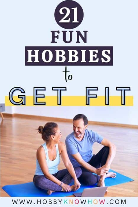 couple getting fit for a hobby