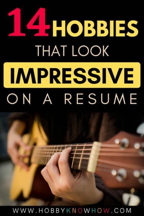 resume hobbies