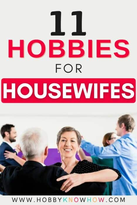 housewive looking for a new hobby