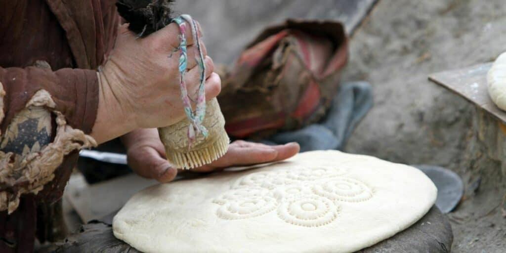 Making Traditional Bread in Uzbekistan