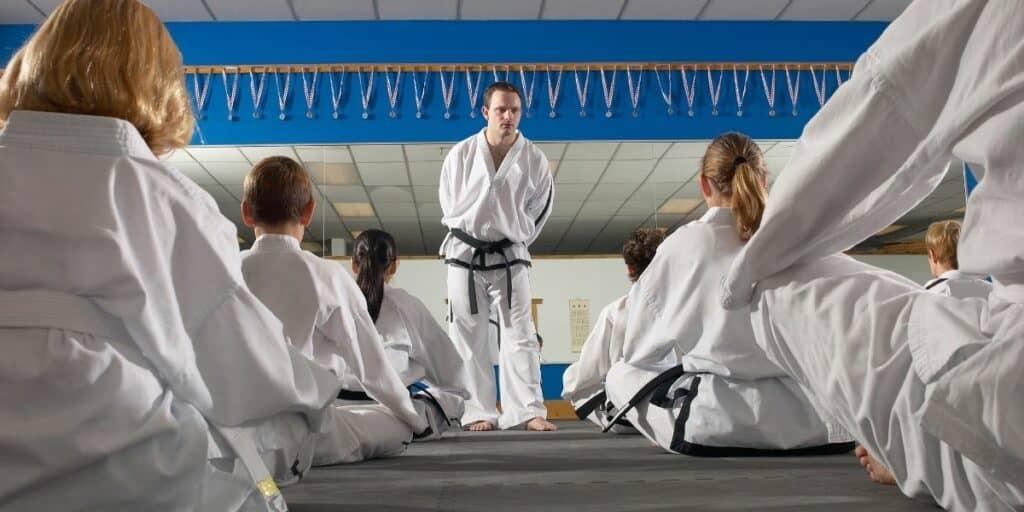 martial arts hobby