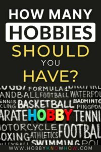 how many hobbies