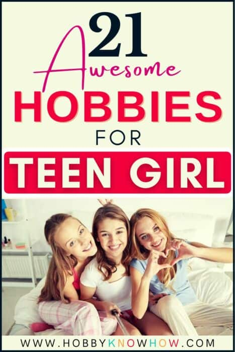 TEEN GIRLS LOOKING FOR NEW HOBBY