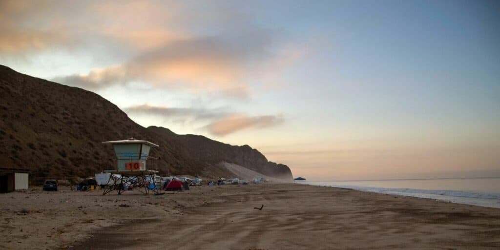 Is It Legal to Camp on the Beach?