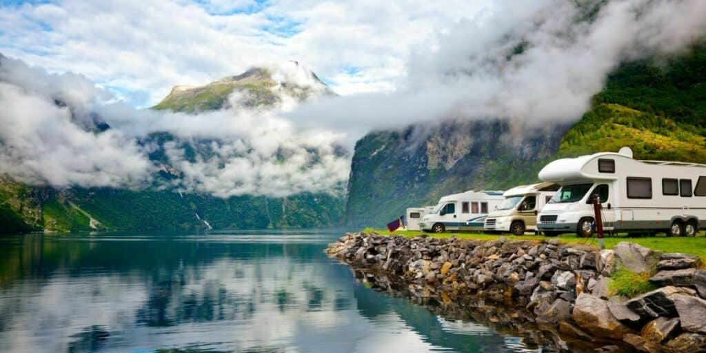 Can You Pitch a Tent in an RV Spot?