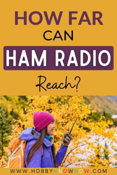 ham radio distance