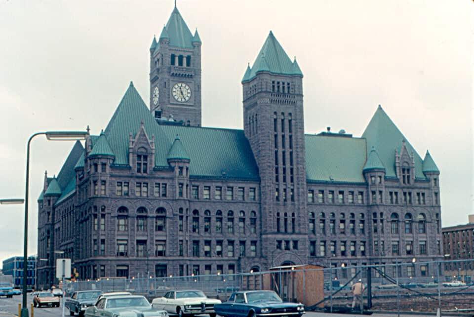 city hall. minnosota