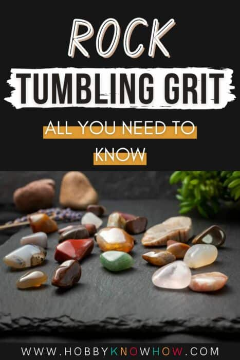 rock tumbling grit