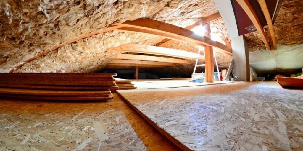 ham radio in attic