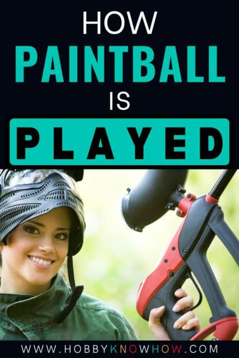 paint ball played
