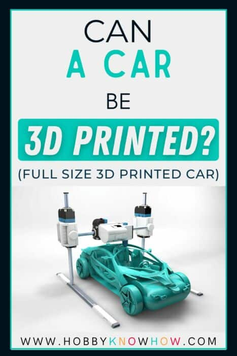 car 3d print