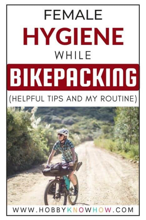 lady bikepacking