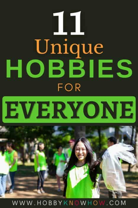 people looking for unique hobbies