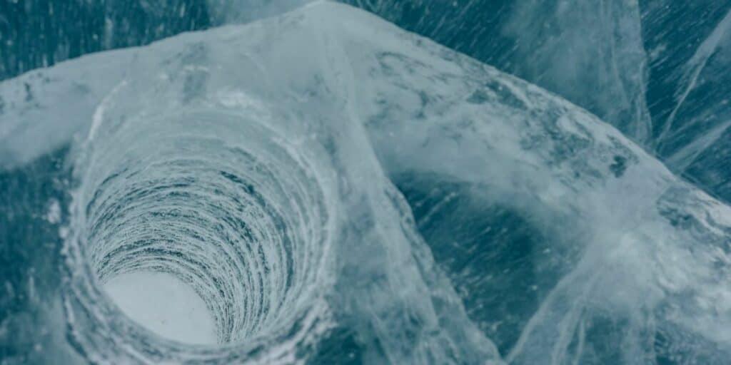 Deep Thick Blue Ice