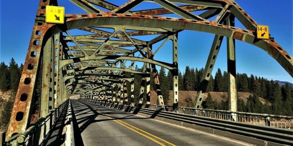 bridge in Steven's Point