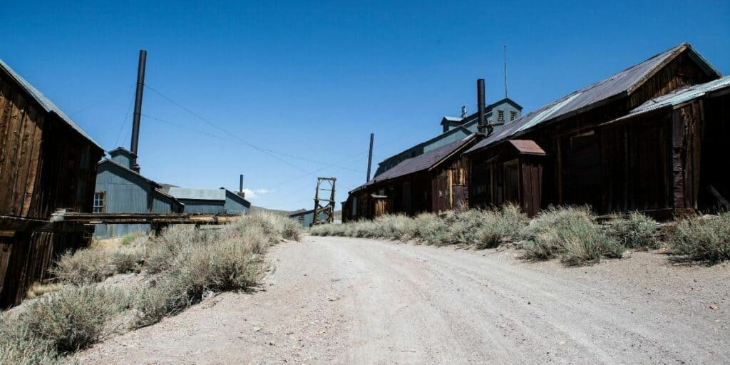 bodie ghost town in usa