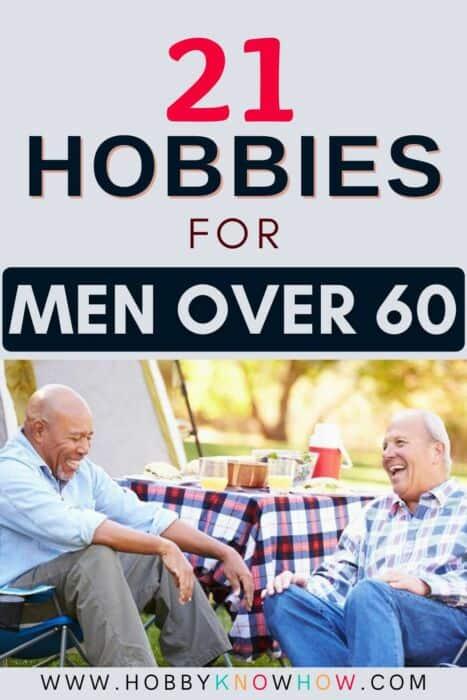 men over 60 looking for hobbies