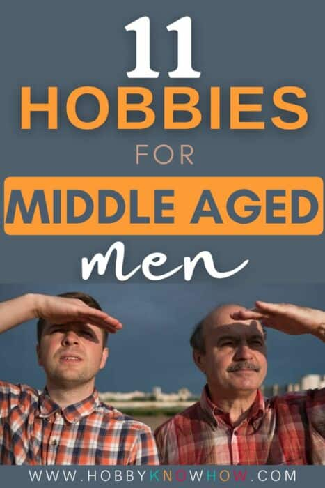 middle aged men looking for a new hobby