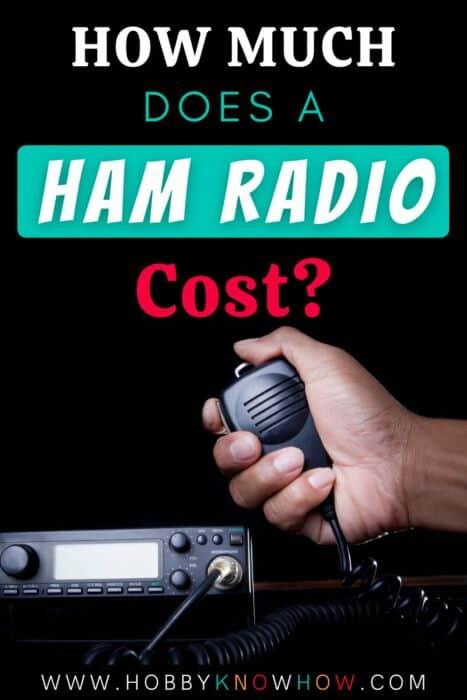 ham radio cost