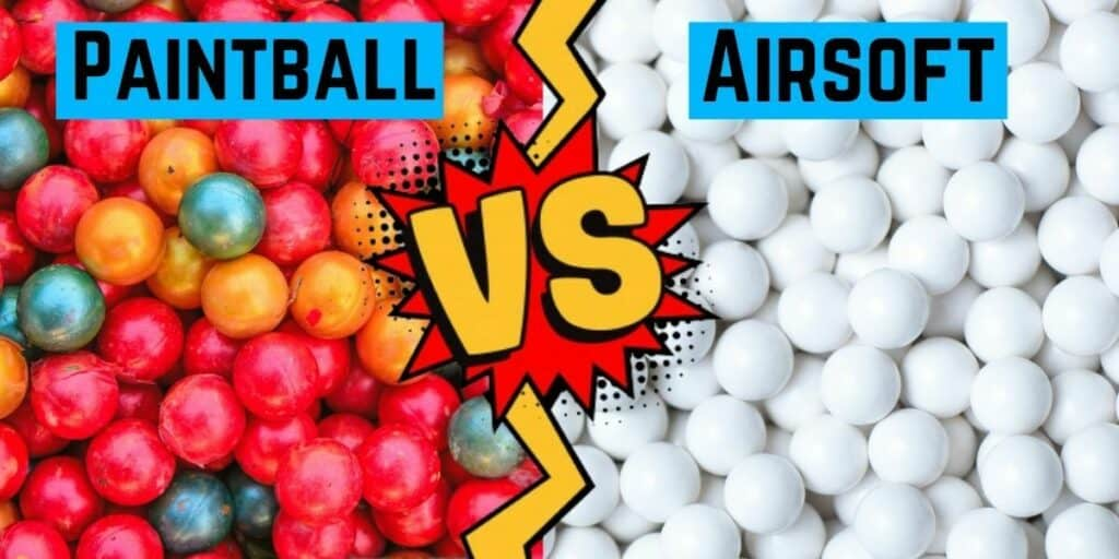 paintball vs airsoft. Which hurts more
