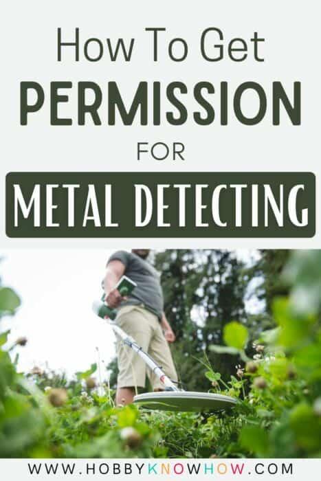 permission to metal detect