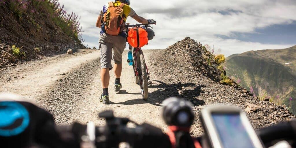 maps and GPS bikepacking