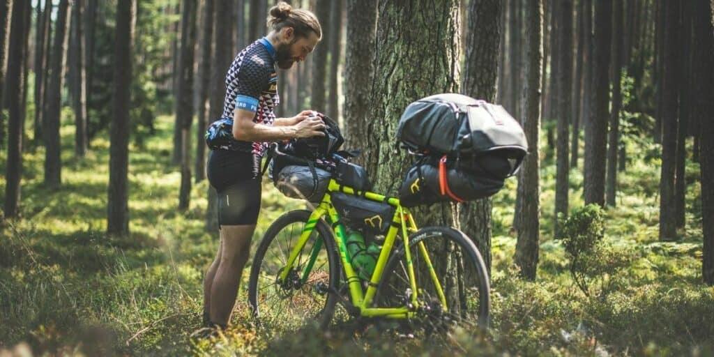 bikepacking frame bags