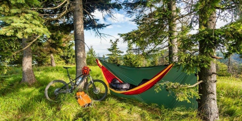 bikepacking sleeping