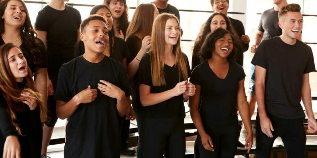 singing at christmas