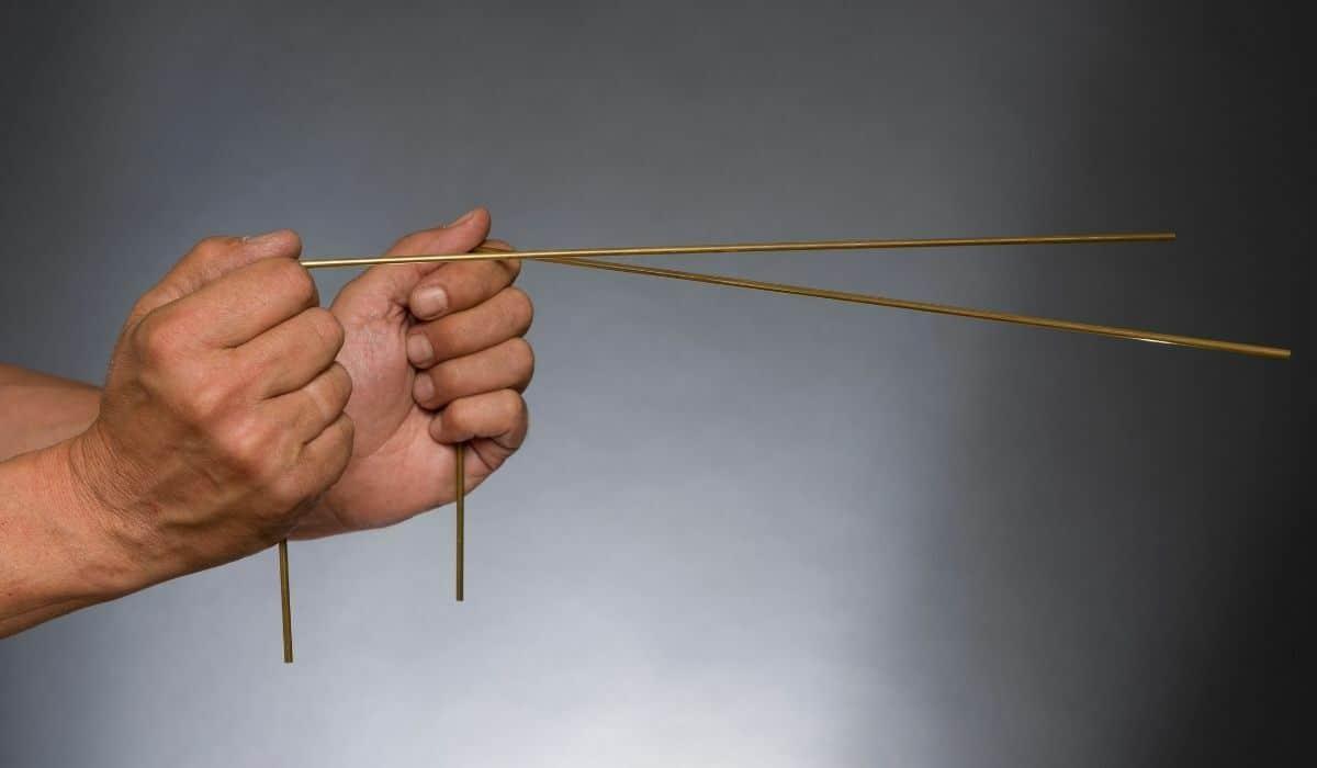 l shaped divining rods