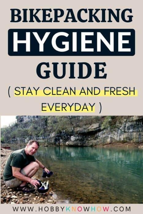bikepacking hygiene