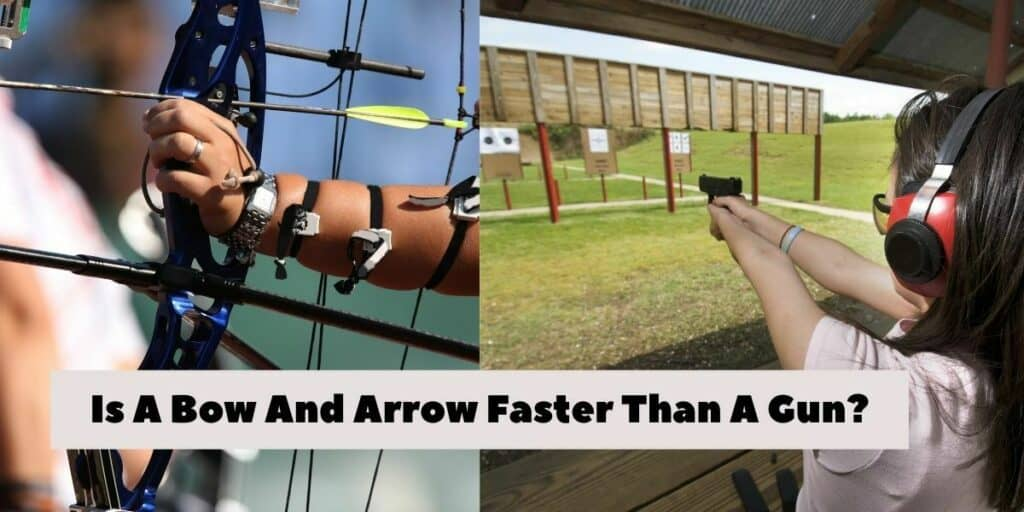 bow and arrow vs gun
