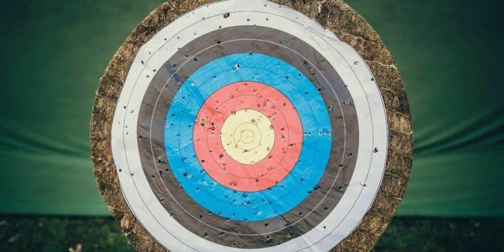 recurve shooting target