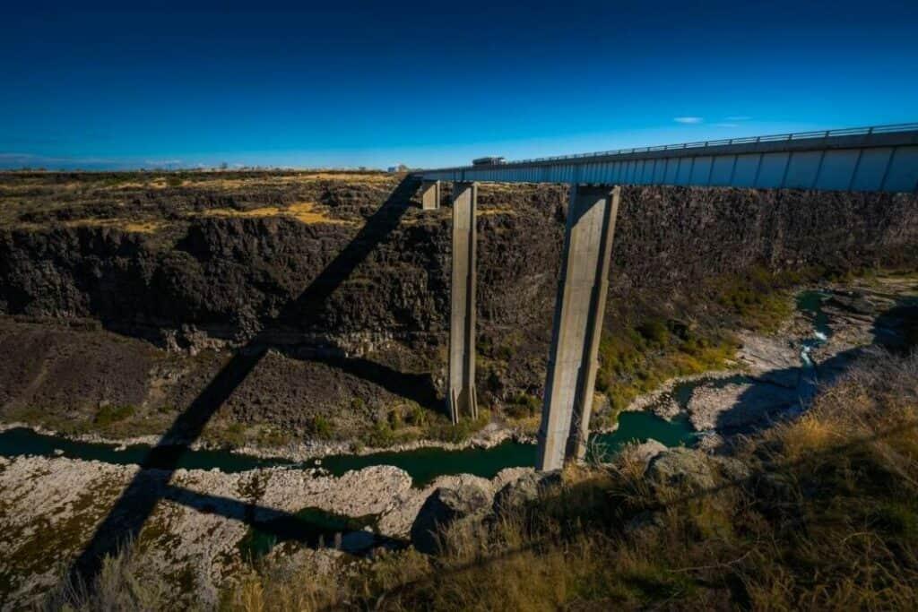 Idaho- Hansen Bridge