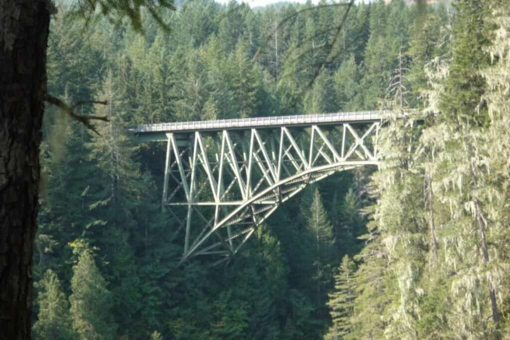 Shelton Washington- High Steel bridge