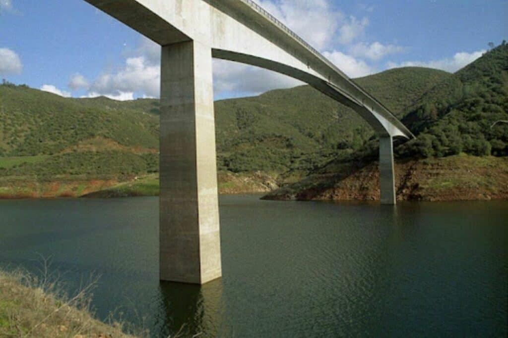 Calaveras County, Pioneer California - Parrotts Ferry Bridge