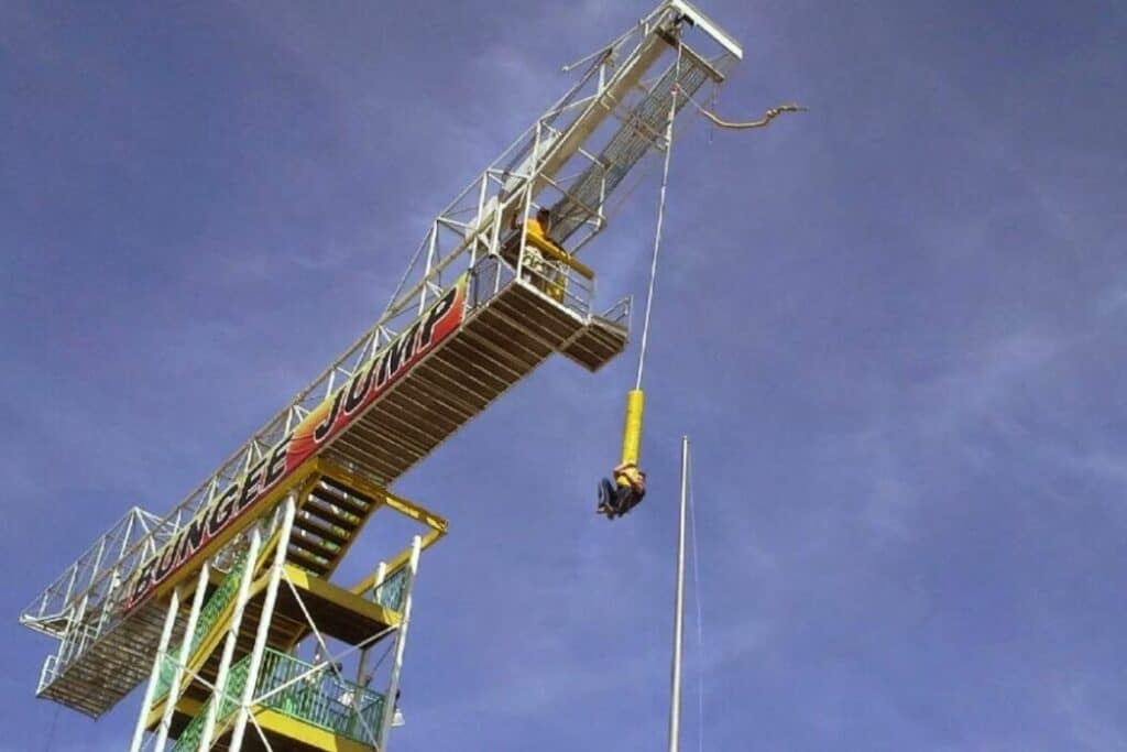 Bungee Tower at the Track Recreation Center