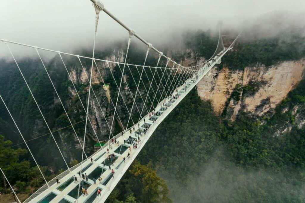 Zhangjiajie Glass Bridge Bungee