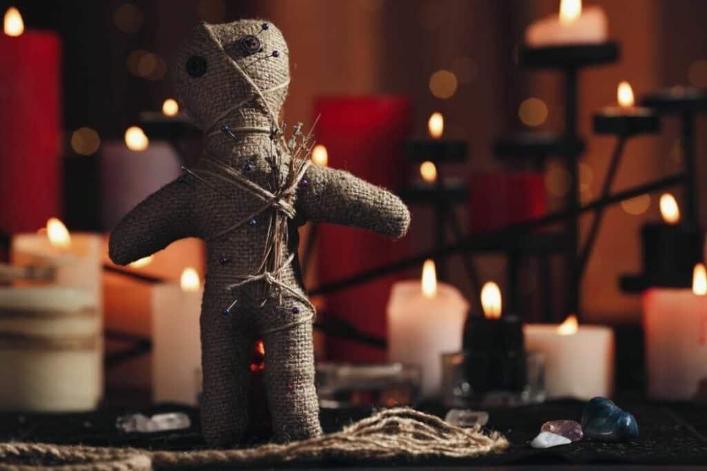 practising witchcraft