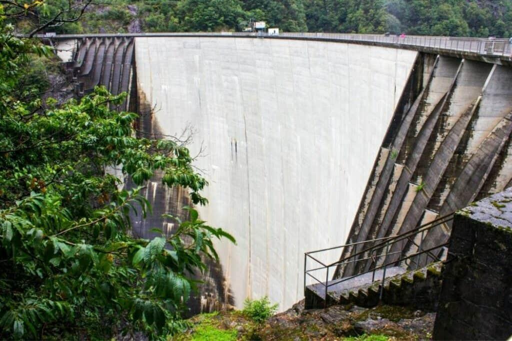 Contra dam – Ticino in Switzerland