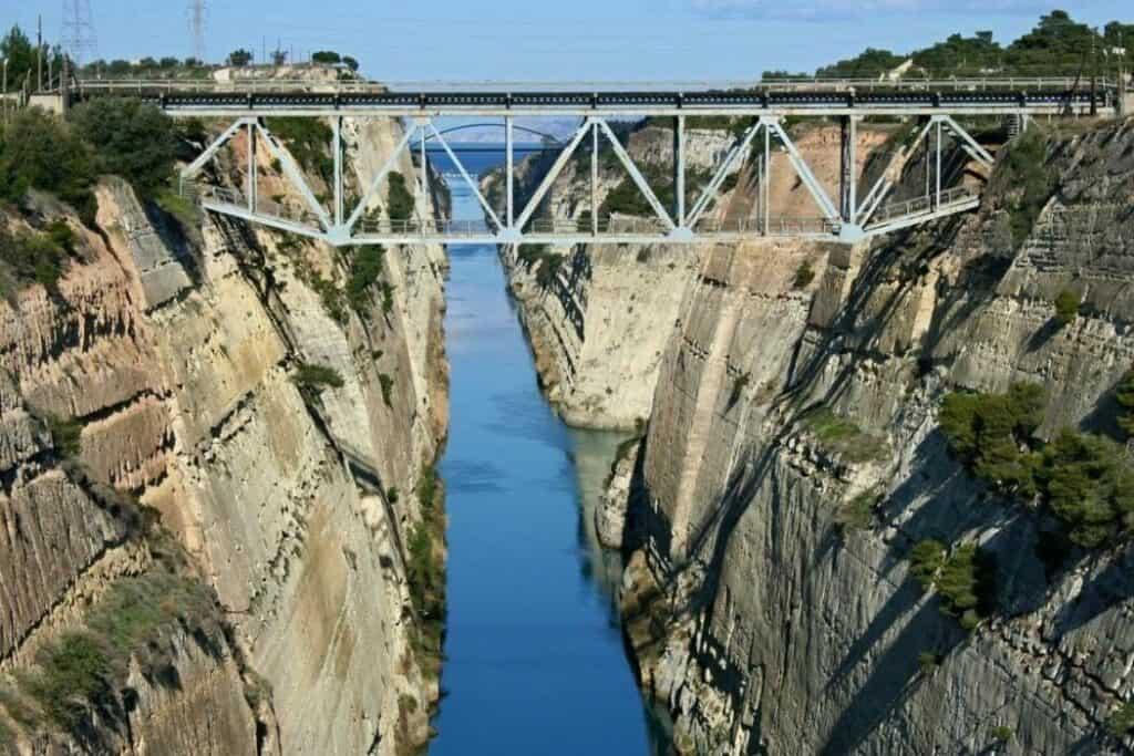 Greece: Corinth Canal