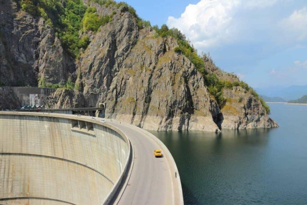 Vidraru Dam in Romania
